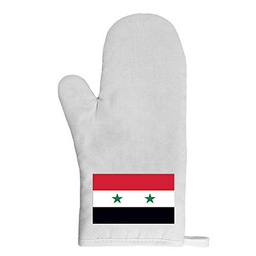 Mygoodprice Ofenhandschuh Topflappen Flagge Syrien