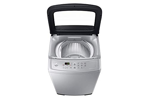 Samsung 6.5 kg Fully-Automatic Top Loading Washing Machine (WA65A4002VS/TL, Imperial Silver, Diamond Drum)
