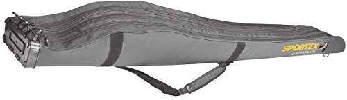 Sportex Rutentasche SuperSafe 190 cm/3 Fächer grau