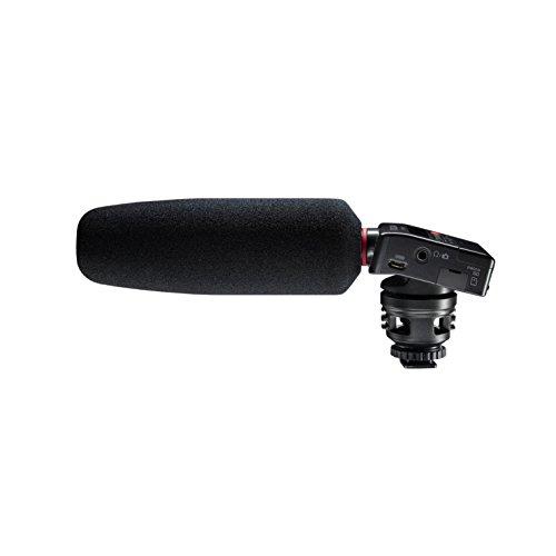 Tascam DR-10SG – Audiorecorder mit Richtmikrofon für DSLR-Kameras