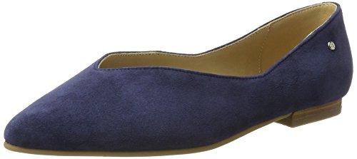 Marc O'Polo Damen 70214003001302 Ballerina Geschlossene Ballerinas, Blau (Dark Blue), 40 EU