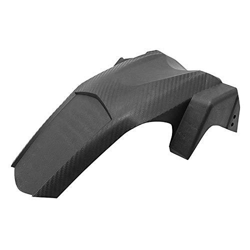 ZQDM Fender Trasero de plástico de la Motocicleta, Protector de Guardia de Salpicaduras de neumáticos para Yamaha NMAX155 16-19 Imitación de Carbono