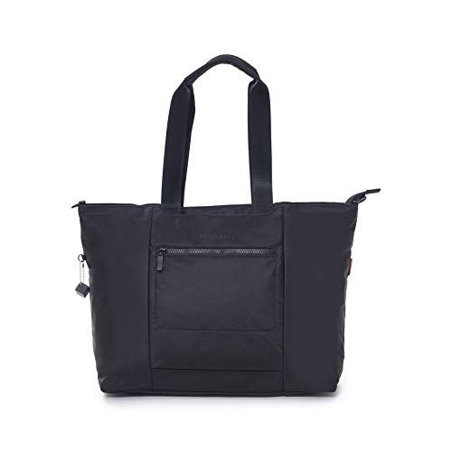 Hedgren Swing Large Tote Bag, Removable Shoulder Strap, Rfid Shoulder Bag, Black