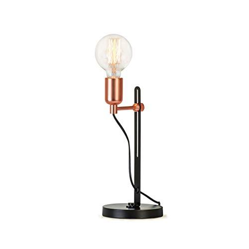 Lámparas de Escritorio Lámpara de mesa de moda nórdica creativa dormitorio sala de estar decoración lámpara de noche retro Lámpara de Mesa