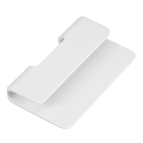 Soporte universal para teléfonos móviles y tabletas, soporte para teléfono para montaje en pared, soporte multifunción para teléfono móvil, soporte para Hotel, casa, color blanco