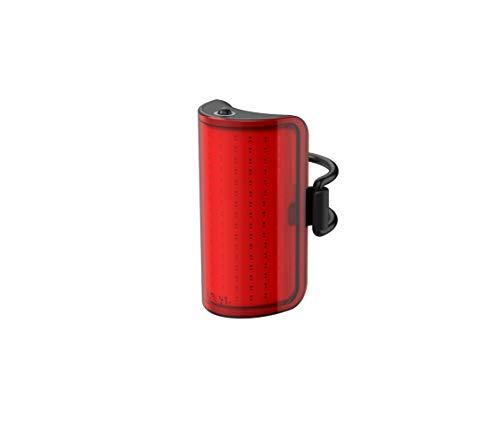 Kngo Mid Cobber Rear 10.75653, Luz de bicicleta,  Iluminación trasera, LED 170 lm, Rojo/Negro