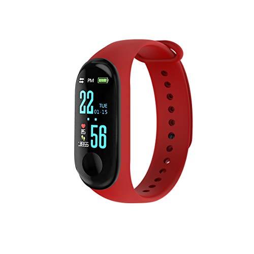 Blaupunkt BLP5220 Smart-Armband mit Pulsmesser, iOS und Android, Bluetooth, Schlafüberwachung, 3 Tage Akkulaufzeit