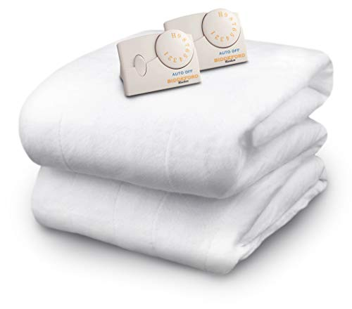 Biddeford Blankets Polyester Electric Heated Mattress Pad...