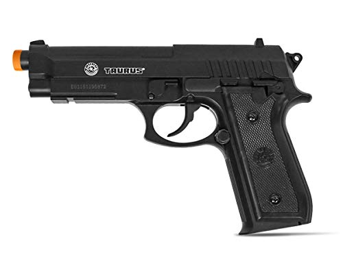 Taurus PT92 CO2 Airsoft Pistol with Hop-Up, 377 FPS, Black, 1.9 pounds (210308)