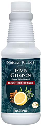 Household Cleaner Concentrate Five Guards 16 fl. oz. by Natural riches from The Tales of French...