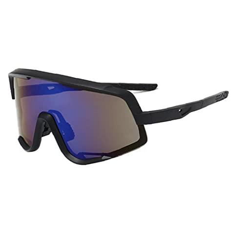 Gafas De Sol Deportivas Polarizadas Gafas De Sol Protectoras para Ojos Deportivos Gafas De Sol De Ciclismo para Equitación Azul