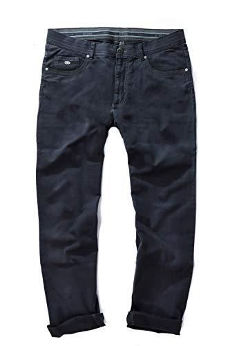 JP 1880 Herren große Größen bis 66, 5-Pocket Hose, elastischer Innenbund, Regular Fit, Reine Baumwolle Navy 58 717157 76-58