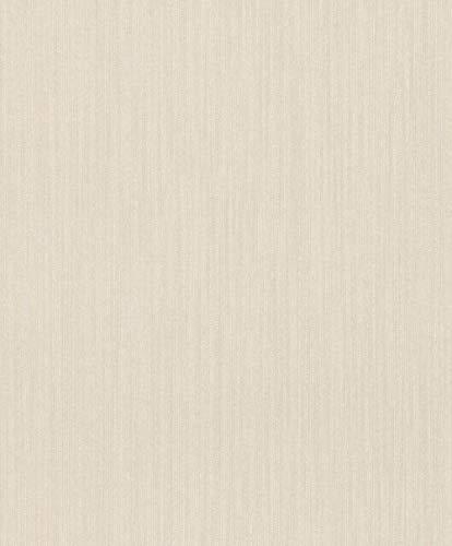 Textiltapete Rasch Textil Mirage Viskose Fäden creme weiß 079325
