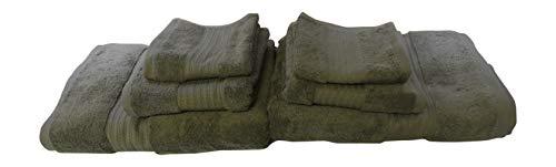 Lauren Ralph Lauren Greenwich Rosemary Towel 6 Piece Set Bundle - 2 Bath Towels, 2 Hand Towels, 2 Washcloths