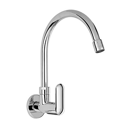 KOHLER Kumin Wall-mount Cold-only Premium Kitchen Faucet, with Swivel Spout for Easy reach