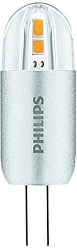 Philips Lighting Lampadina LED Capsule G4, 1.2 W Equivalenti a 10 W, Luce Bianca Calda, 3000 K