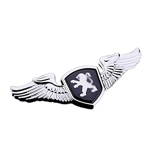 Para Peugeot 3008 5008 508 408 406 507 301 307 308 206 208 Parrilla Delantera Etiqueta Lateral AutomóVil Etiqueta Trasera Accesorios AutomóVil Bonnet Logobadge Placa IdentificacióN Estilo AutomóVil