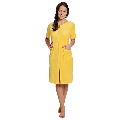 WeWo fashion Strandkleid 6429 gelb, L