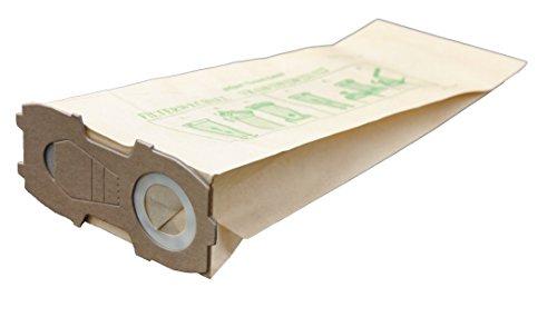20 bolsas para aspiradoras Vorwerk Kobold 118 119 120 121 122, con brida extra fuerte (casi 4 mm)