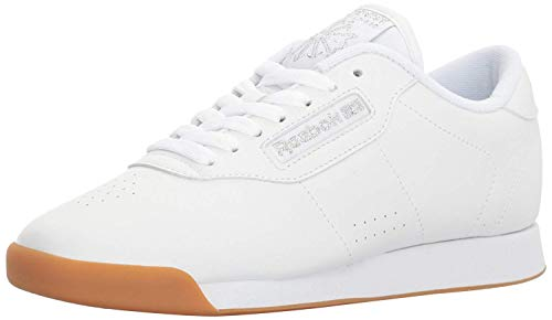 Reebok Women's Princess Walking Shoe, White/Gum, 9