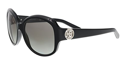 Tory Burch TY7085 - 105811 Sunglasses, Black Frame 55mm w/ Grey Gradient Lens