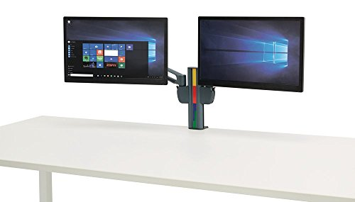 Kensington SmartFit Ergonomic Dual Monitor Pivoting Arm Mount (K60273WW)