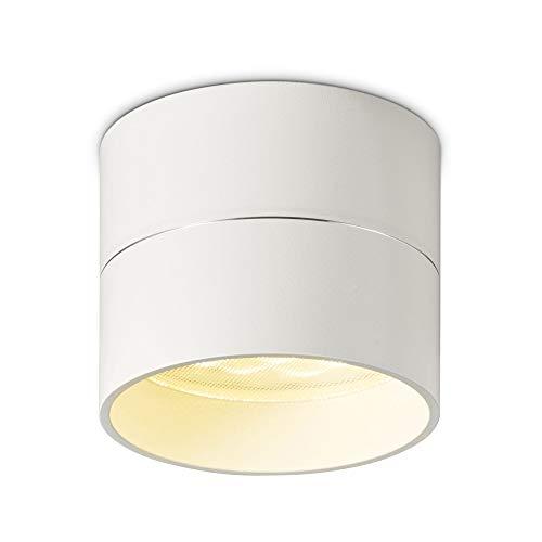 Oligo Tudor Deckenleuchte S LED, weiß matt