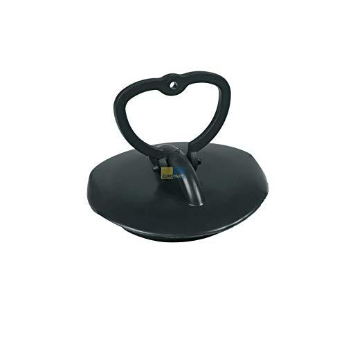 LUTH Premium Profi Onderdelen Afvoerplug 45,5mm Gummistöpsel Rubber stop voor afvoerklep wastafel
