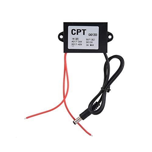 Convertidor De Fuente De Alimentación AC-DC Regulador ajustable De 24V A 12V Para Monitor Fuente De Alimentación 3A