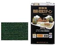 ロックペイント 水性ナフタデコール 4L グリーン