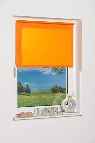 K de Home 541831–3Klemmfix–Estor de Mini, Naranja Luz de día, plástico, Tela, Naranja, 70 x 150