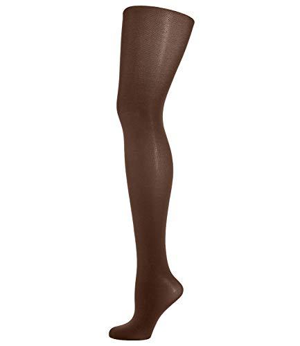 Wolford Damen 18379 Blickdichte Strumpfhose, Frauen Struempfe,weich,anschmiegsam,hochwertig,luxurioes,schimmernd.4023 coca,Large (L)