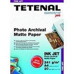 Tetenal Photo Archival Matte Papier A4 241g/m² 20Blatt Tintenstrahldrucker
