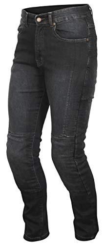 Weise Tundra Jeans, korte lengte, zwart, maat 36
