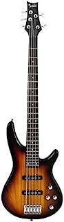 Bass Glarry GIB Electric 5 رشته گیتار باس کامل اندازه بند بند انتخاب اتصال آچار ابزار آفتاب رنگ