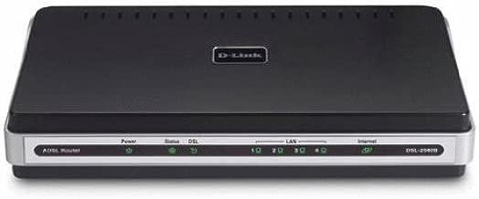 D-Link DSL-2540B ADSL2/2+ Modem with 4-Port Ethernet Router TR067/069
