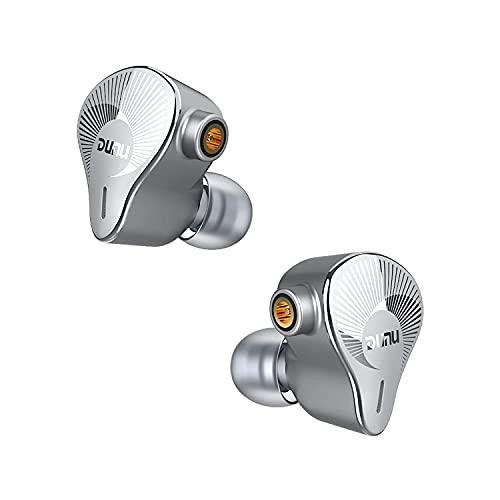 HiFiGo – Dunu EST112 – Écouteurs intra-auriculaires hybrides haute performance avec armature équilibrée 13,5 mm, diaphragme dynamique en béryllium pour IEMs audiophiles