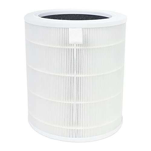 空気清浄機用フィルター くうきせい空気清浄機用アクセサリー H13 TRUE HEPAフィルター 除菌 ウイルス PM2.5対応 4重空気洗浄 ほこり 花粉 集じん タバコ ペット臭 脱臭 カビ取り 交換フィルター コンパクト 軽量 AP001-RF ホワイト