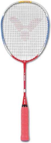 VICTOR Badmintonschläger Training, Blau/Rot, 58.0 cm, 116/5/8 by Victor