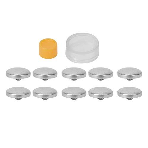SALUTUYA Multifunktionsmode DIY Tasche Stoff Schnalle Set Abdeckknöpfe Kit, Nieten Snap Zange Kit Nähwerkzeuge für Kleidung Leder Basteln(20mm)