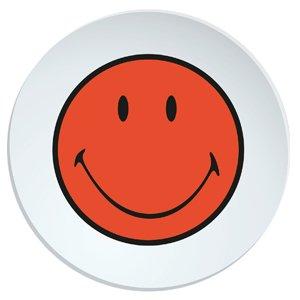 zak! Designs 6662-0841 Smiley Teller, 20 cm, Koralle