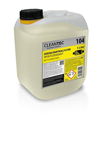 CleanTEC 104 DPF Limpiador de acondicionador de partículas diésel, 5 l