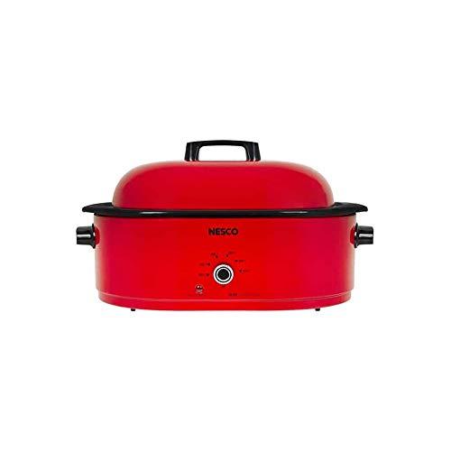 Nesco MWR18-12 Roaster Oven (Red, 18-Quart)