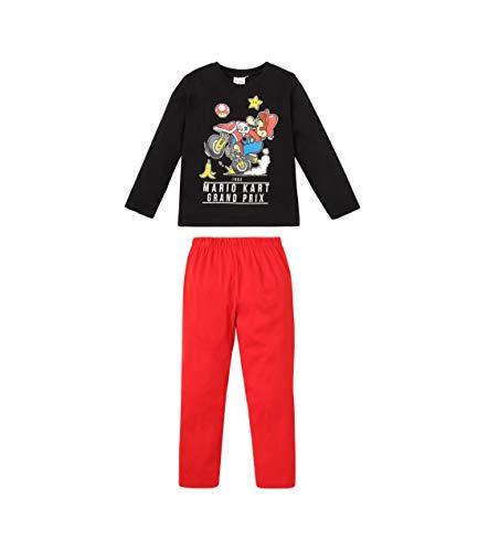 Unbekannt Super Mario Jungen Pyjama Schwarz 104