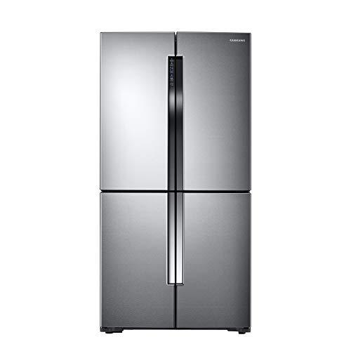 Samsung RF60J9000SL/ES Frigorifero 4 Porte T9000CD, Total No Frost, 611 L, Inox Spazzolato [Classe di efficienza energetica A+]