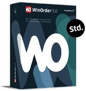 WinOrder 6.0 Standard - GoBD-konforme Kassensoftware für Lieferdienste mit TSE & GDPdU (Gastronomie Kasse)