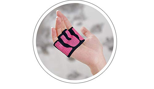 GUOJIAYI A Women\'s Anti-Slip Four-Fingered Aerial Yoga Gloves Protect Half-Finger Sports Gloves To Protect The Hand.