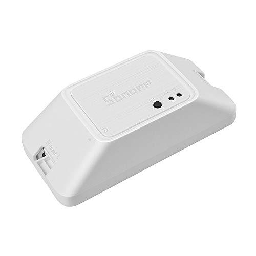 SONOFF Interruptor Inteligente RFR3 RF 433Mhz WiFi Smart Switch 100-240V DIY Ewelink App Automatización Trabaja con Inicio Control de Voz