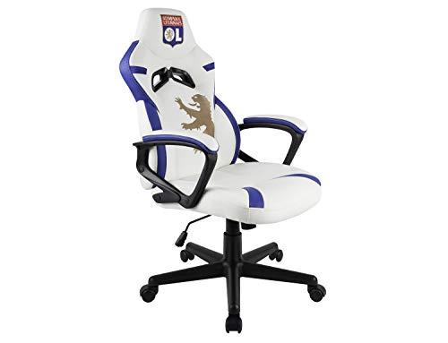 OL Olympique Lyonnais Siège Gamer Junior/Chaise de Bureau Licence Officielle