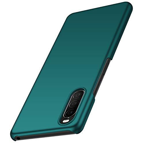 anccer Kompatibel mit Sony Xperia 10 II Hülle [Serie Matte] Elastische Schockabsorption & Ultra dünnes Handyhülle Design für Sony Xperia 10 II (Grün)